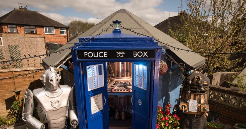 The Tardis Shed | Courtesy of Cuprinol