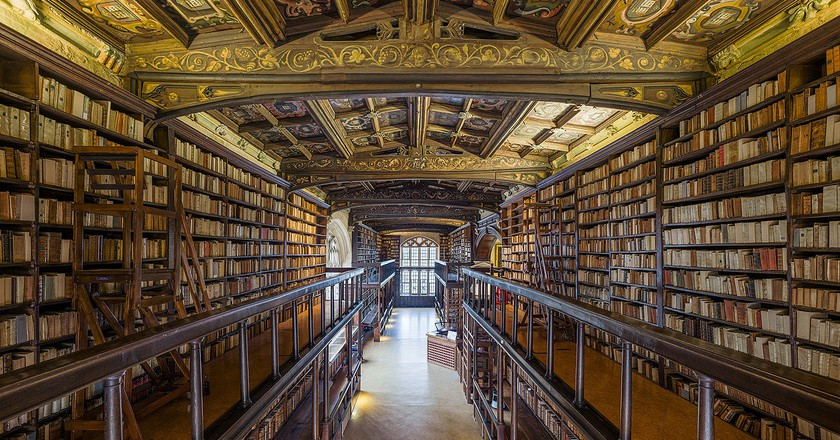 Duke Humfrey's Library   © David Iliff/WikiCommons