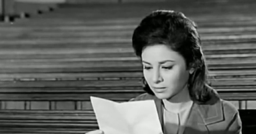 Faten Hamama as Laila in The Open Door Movie |© Elcinema