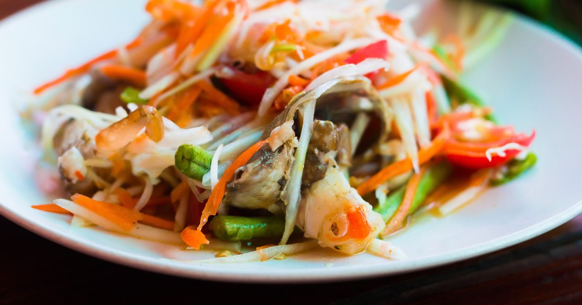 Green papaya salad | © xegxef / Pixabay