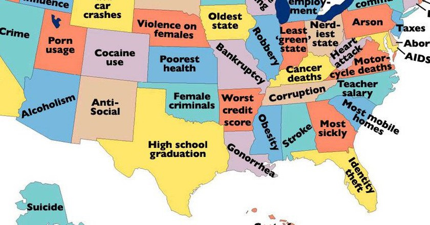 15 shocking maps only americans will find funny