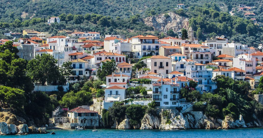View of Skiathos, Sporades