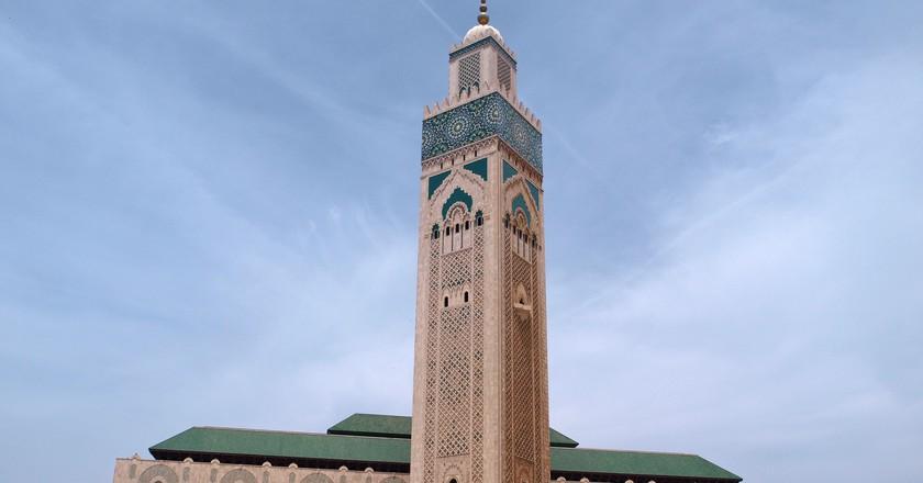 Casablanca's famous Hassan II Mosque | © mararie / Flickr