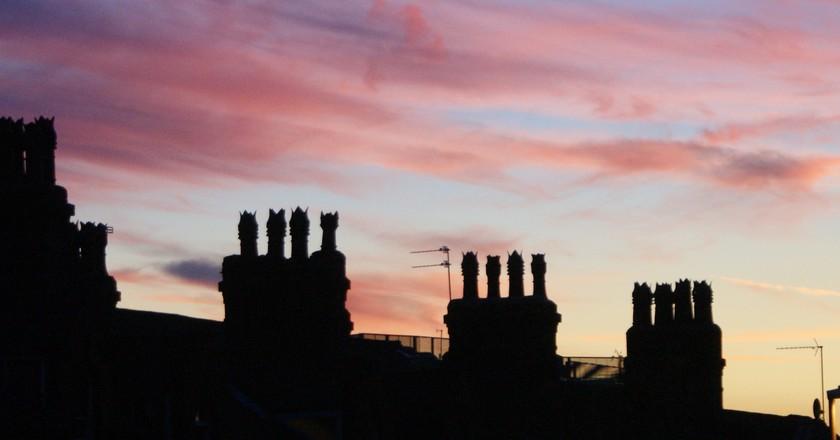 Sunset over Headingley, Leeds | © Joanna Keen / Flickr