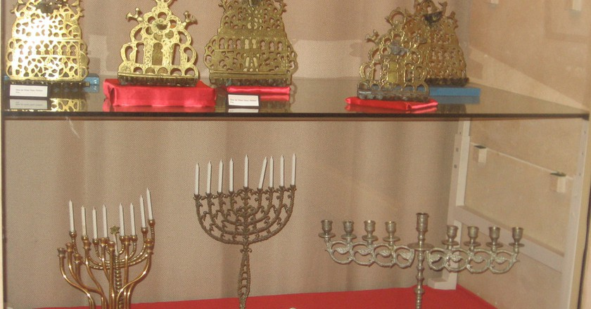 Display in the Museum of Moroccan Judaism in Casablanca | © Chris Martin / Flickr