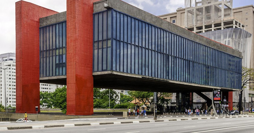 MASP in Sao Paulo | © The Photographer/WikiCommons