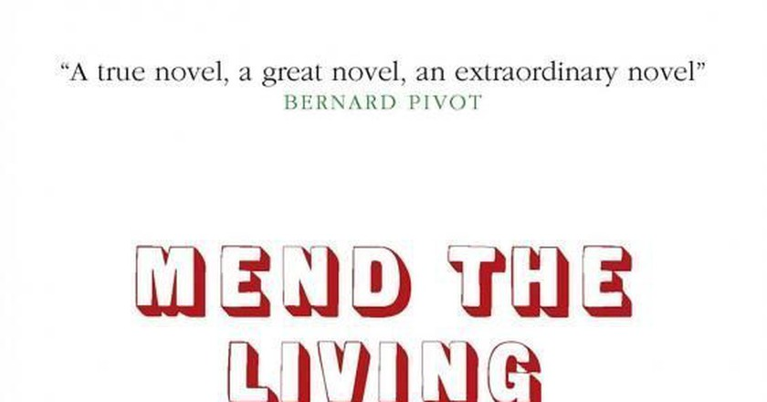 From the cover of Mend the Living | © MacLehose Press