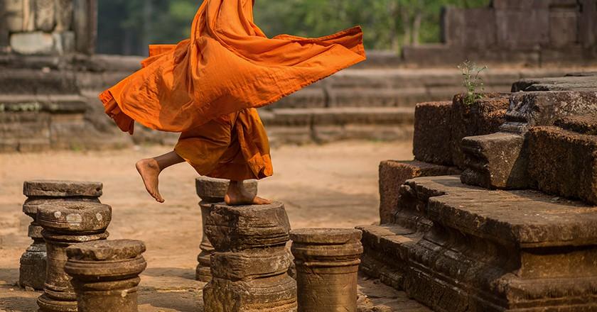 A Buddhist Monk | Courtesy of Minko Mihaylov Photography