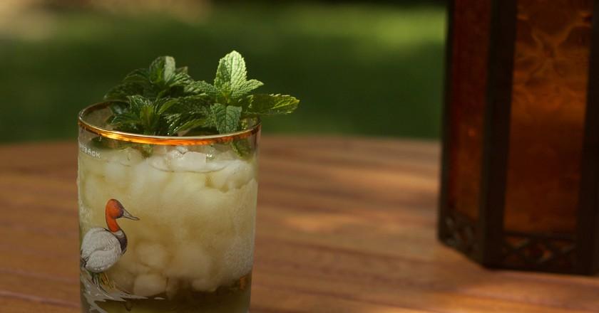 Mint julep   © Brenda / Flickr