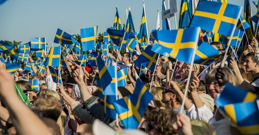 Celebrating Sweden's National Day  © Sveriges Veteranförbund F / Flickr