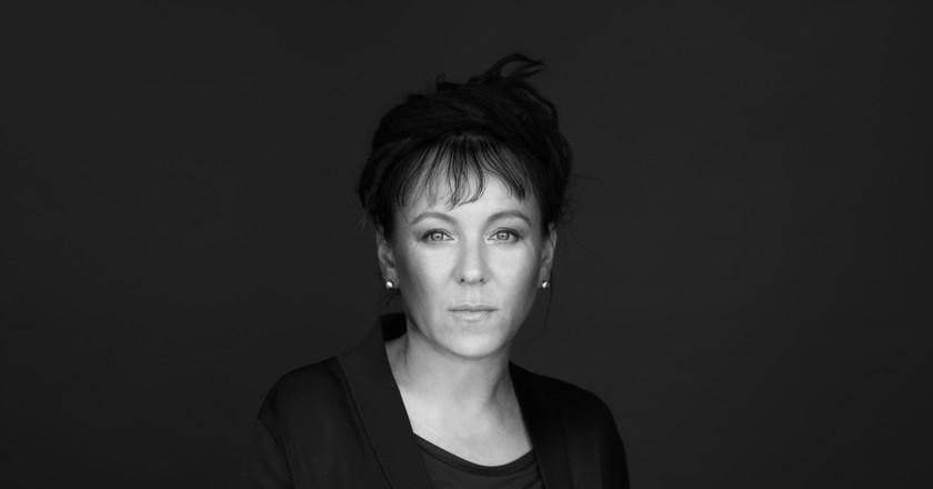 Olga Tokarczuk, by Jacek Kłodziejsk   Courtesy of Fitzcarraldo Editions