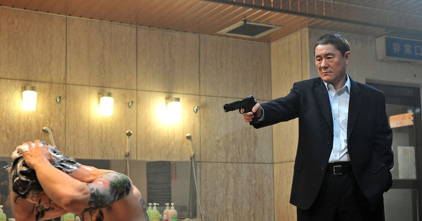 Beat Takeshi in 'Outrage' | © Magnet Releasing/Office Kitano