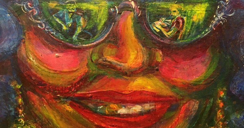 "<a href=""https://www.flickr.com/photos/cogdog/24506519184/"" target=""_blank"" rel=""noopener noreferrer"">The Eyes of Carmen Rosa by Antonio Martorell   © Alan Levine / Flickr</a>"