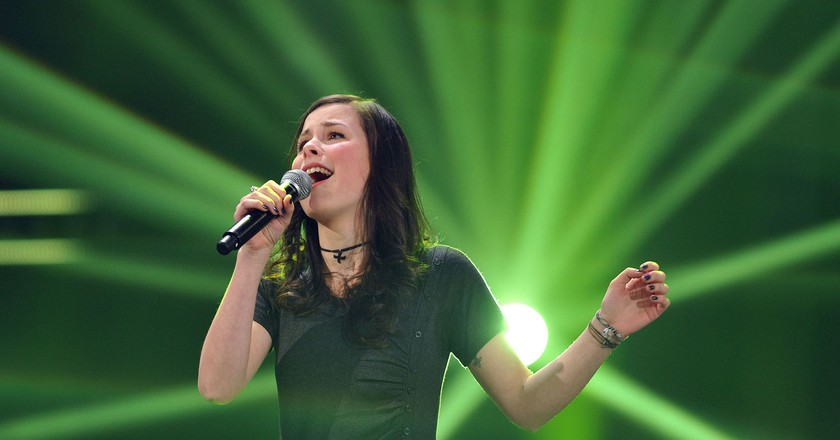 Lena Meyer-Landrut  won in 2010   © J÷rg Carstensen/Epa/REX/Shutterstock