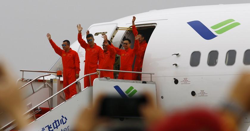 © Xinhua News Agency/REX/Shutterstock