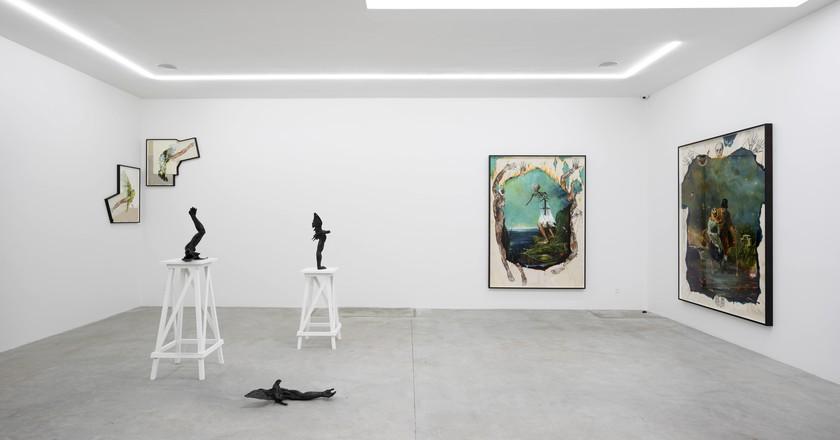 Otherworld by Troels Carlsen, Eighteen Gallery | Courtesy of V1 Galler |© Jan Søndergaard