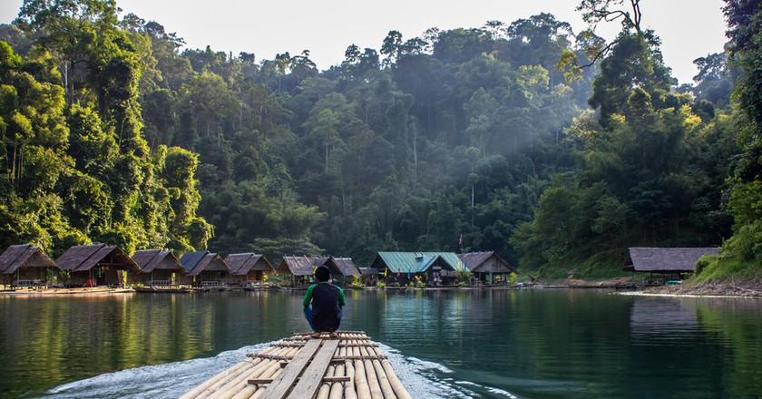 Bamboo Raft, Thailand | © Sirikunkrittaphuk/Shutterstock