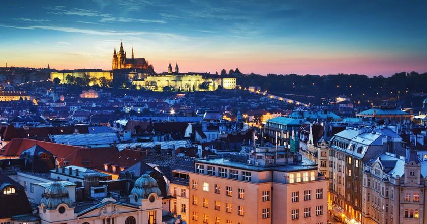 Prague at dusk  | © Kanuman / Shutterstock