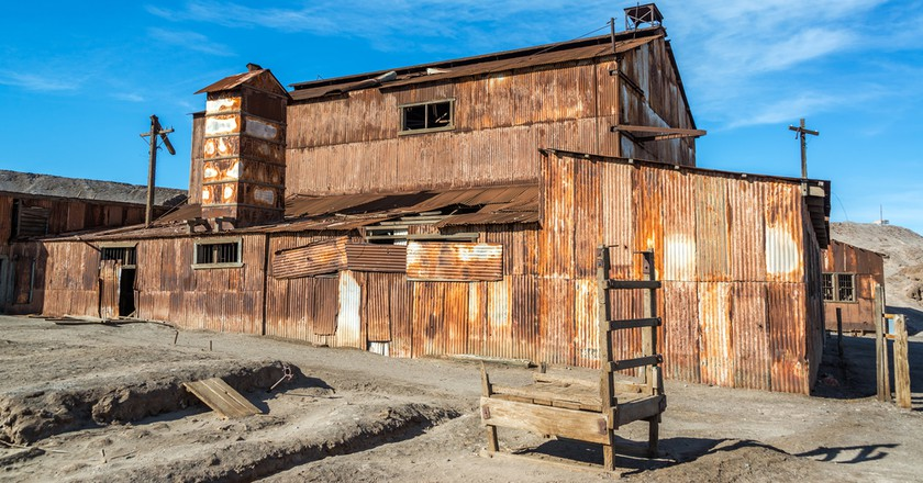 Old rusted building in the UNESCO World Heritage ghost town of Humberstone, Chile  | © Jess Kraft/Shutterstock