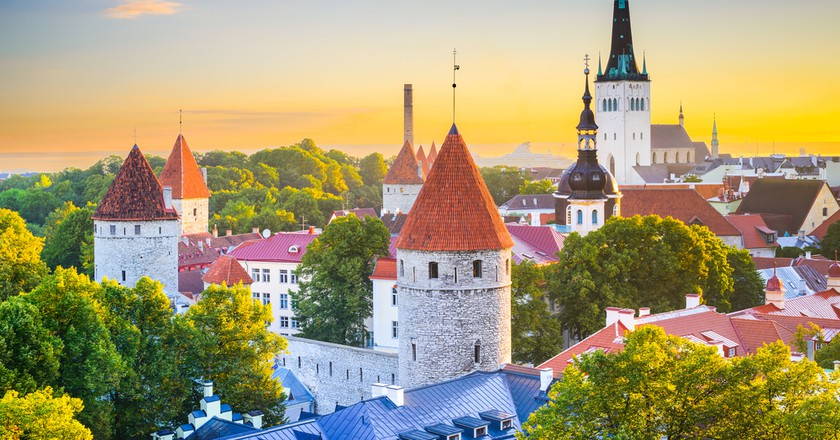 View of Tallinn's Old Town | © ESB Professional/Shutterstock