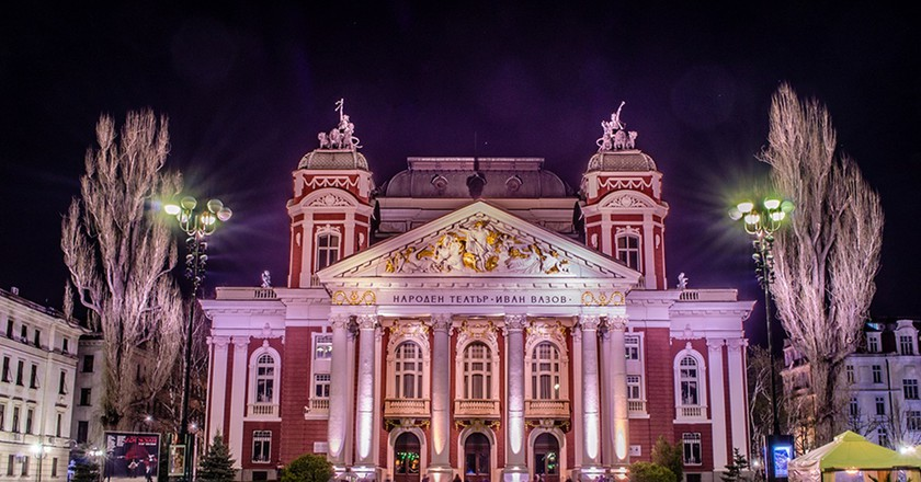 National Theater in Sofia | © Tulazeph/WikiCommons