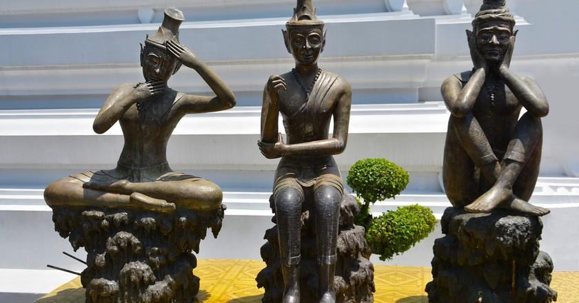 Thai Yoga Statues   © terimakasih0 / Pixabay