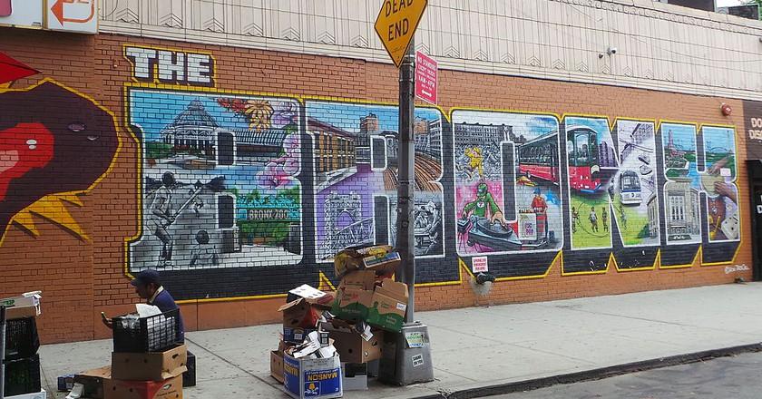 Bronx street art   © Monserrat Boix / WikiCommons