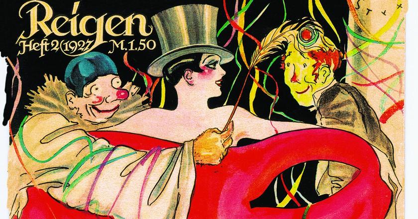 Reigen Magazine, 1927  Republic Weimar Erotic Magazine   © Susanlenox/Flickr