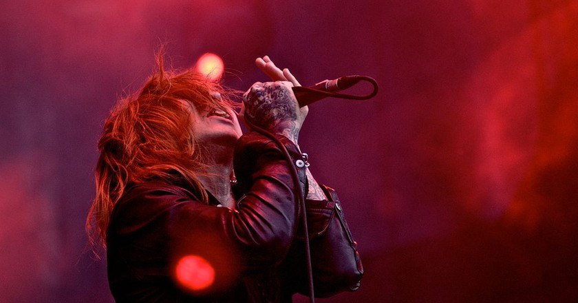 Kyo of Dir En Grey performs in Sao Palo, Brazil in 2009 | © Silvio Tanaka/WikiCommons