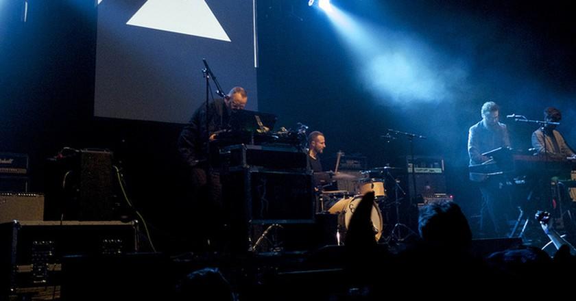 Apparat Organ Quartet @ Harpa  © oliver.wolf / Flickr