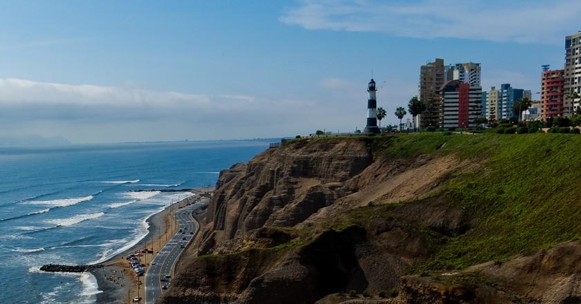 Miraflores coastline in Peru | © Juan Carlos Martins/Flickr