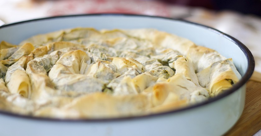 Banitsa, a typical Bulgarian breakfast   © Connie Lu/Flickr