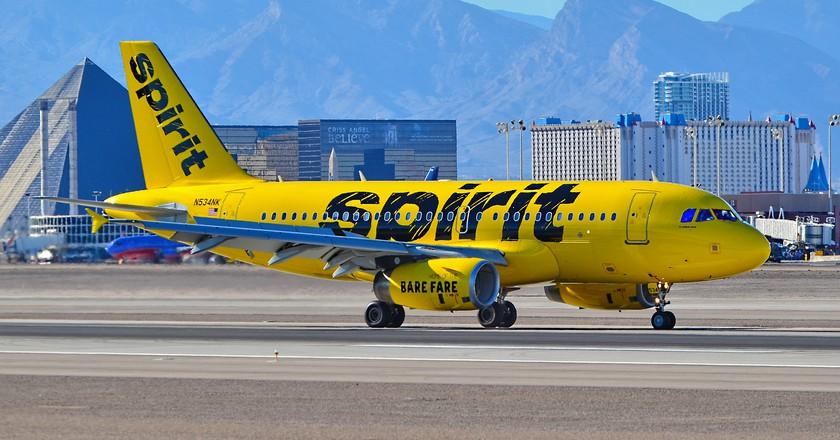 Spirit Airlines | © Tomás Del Core/Flickr