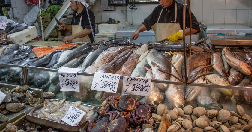 Fresh fish at the market | © CucombreLibre/Flickr
