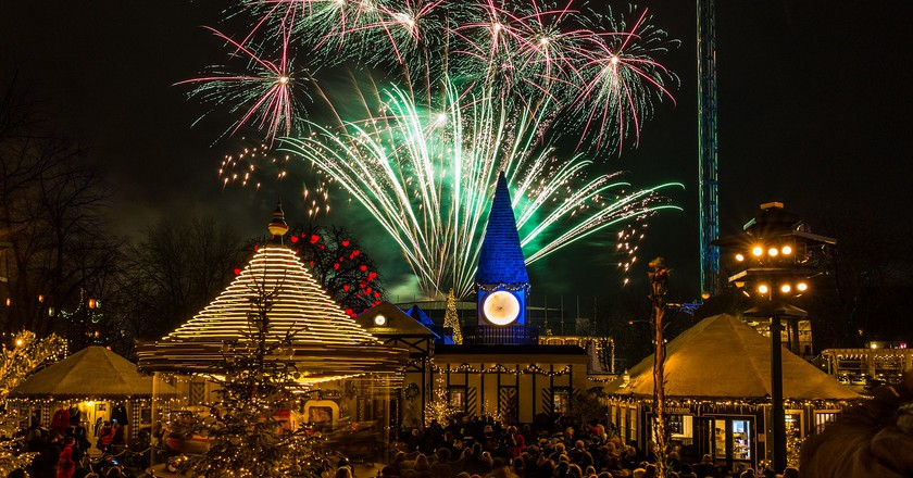 New Years fireworks in Tivoli gardens | © Thomas Rousing/Flickr
