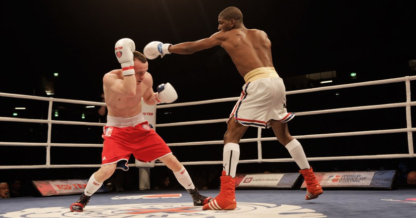 "<a href=""https://www.flickr.com/photos/worldseriesboxing/17023402099/"">Cuba vs. UK | © WorldSeriesBoxing / Flickr</a>"