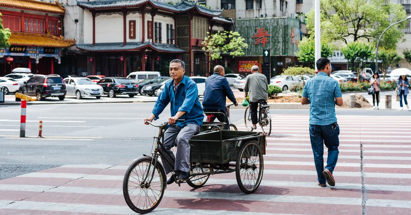 """<a href=""""https://www.flickr.com/photos/14320857@N08/27053726652/"""">A street in Yiwu, China 