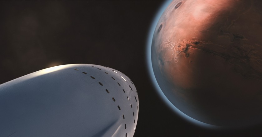 Elon Musk wants to make your trip to Mars comfortable   © SpaceX