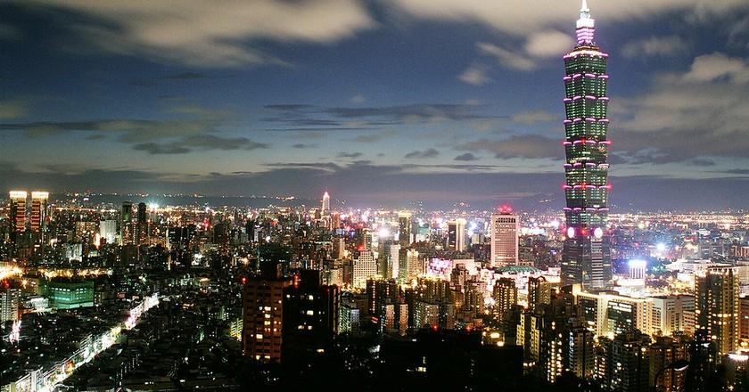 Taipei at Night | © Chris / Flickr