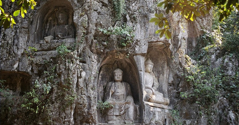 Lingyin temple grottoes | ©Ramon