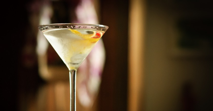 A gin martini | © Don LaVange / Flickr