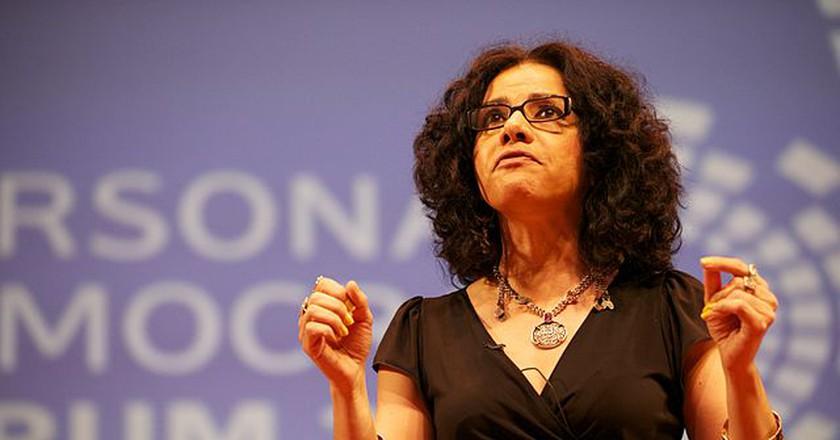 "<a href=""https://www.flickr.com/photos/personaldemocracy/5805393124/in/photolist-bDZauG-9QXhVM-9R1a7U-7U7Kpt""> Mona Eltahawy 2   © personaldemocracy/Flickr</a>"