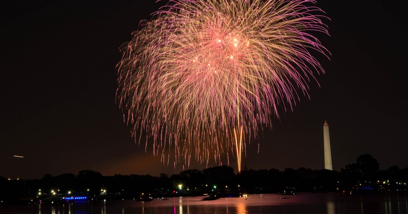 4th of July Fireworks in DC   © mo1229/Flickr