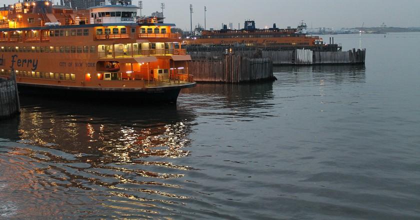 "Staten Island Ferry | © <a href=""https://www.flickr.com/photos/patrick_nouhailler/8249818009"">Patrick Nouhailler / Flickr</a>"