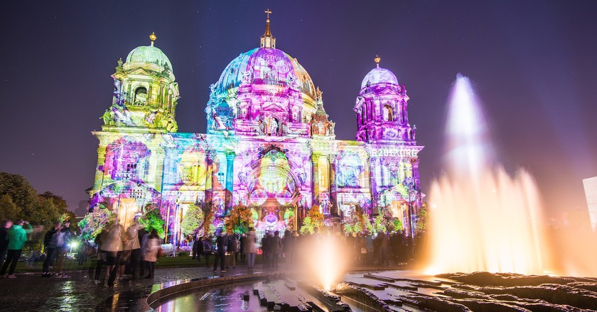 Video projection on Berlin Cathedral | © Kai_Vogel/Pixabay