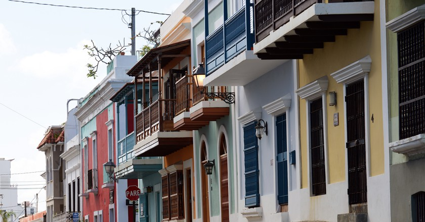 Buildings in Old San Juan, Puerto Rico | © Harvey Barrison/Flickr