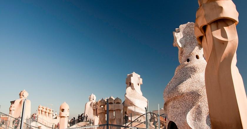 Gaudí buildings in Barcelona I © tbvieri/Pixabay