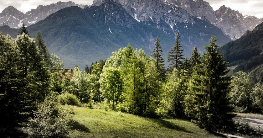 Slovenian mountains│© Bernd Thaller/Flickr