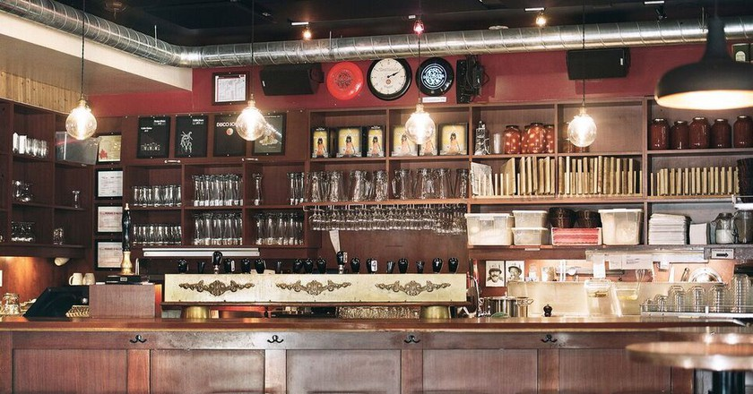 Inside Dieu du Ciel, one of Montreal's best-known craft breweries | Courtesy of DDC