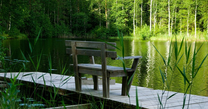 Finnish lakeside  © Pixabay